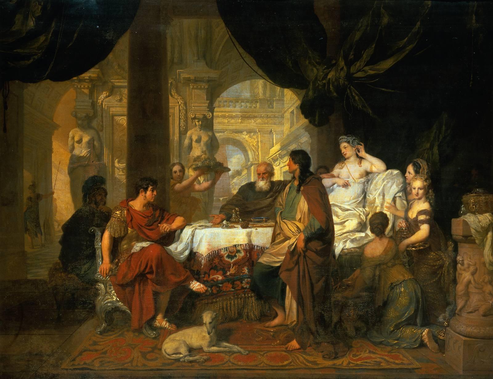 Banket Marka Antónia a Kleopatry